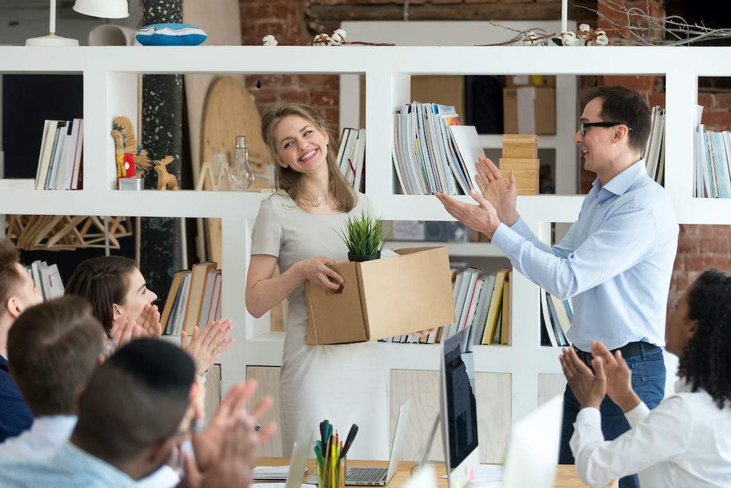 Team member welcoming new employee | Employee Onboarding Process | CTR Payroll | Pittsburgh