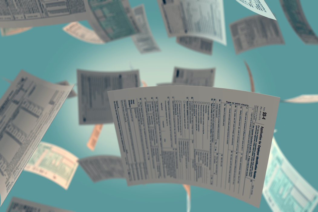 New W-4 and other tax forms floating | CTR Payroll Pittsburgh PA